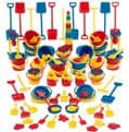 100 Piece Sand and Water Set,childrens water tray table,childrens sand and water tray table,school water table,sensory play table